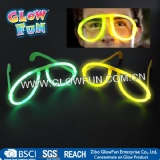 Glow stick eye Glasses, glow in the dark