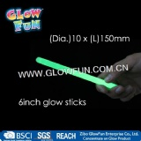 6inch Glow Stick for Party, Glow in The Dark