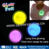 Glow Stick Badge 3inch Round Badge