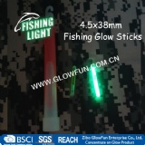 4.5*38mm Float Glow Stick Night Fishing Green Fluorescent Light